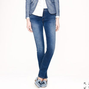 J. CREW stretch matchstick jean dark Luella wash